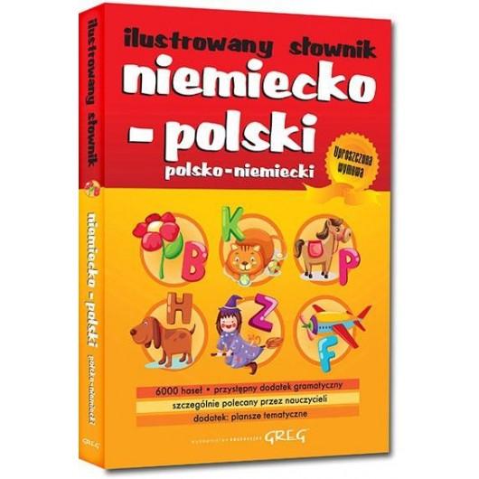 Ilustrowany słownik niem-pol, pol-niem BR