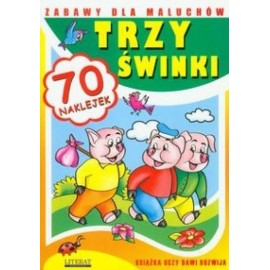 Zabawy dla maluchów - Trzy świnki LITERAT