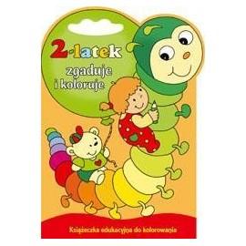 2-latek zgaduje i koloruje