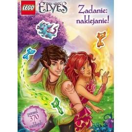 Zadanie: naklejanie! LEGO (R) Elves