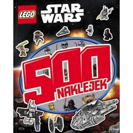 500 naklejek. LEGO (R) Star Wars(TM)