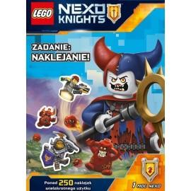 Zadanie: naklejanie! LEGO (R) Nexo Knights(TM)
