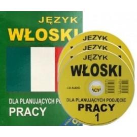 Język włoski dla planujących podjęcie pracy +CD