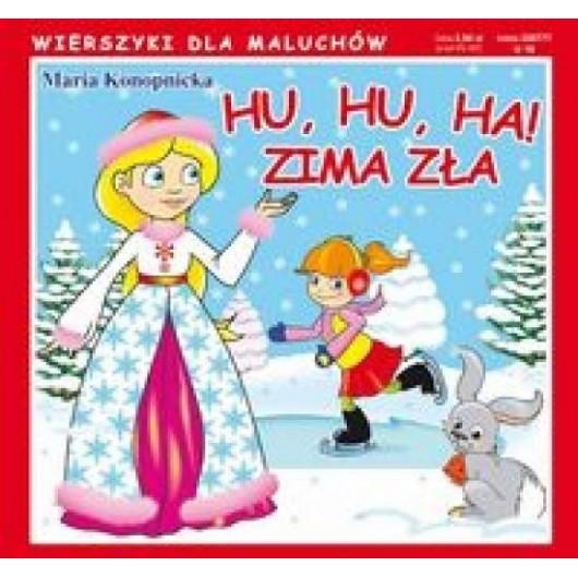 Wierszyki Hu, hu, ha! Zima zła