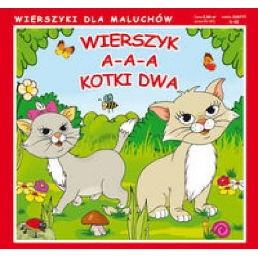Wierszyki A-a-a kotki dwa