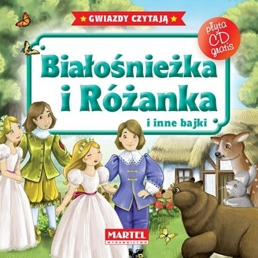 Bajki do poduszki- Białośnieżka i Różanka... +CD