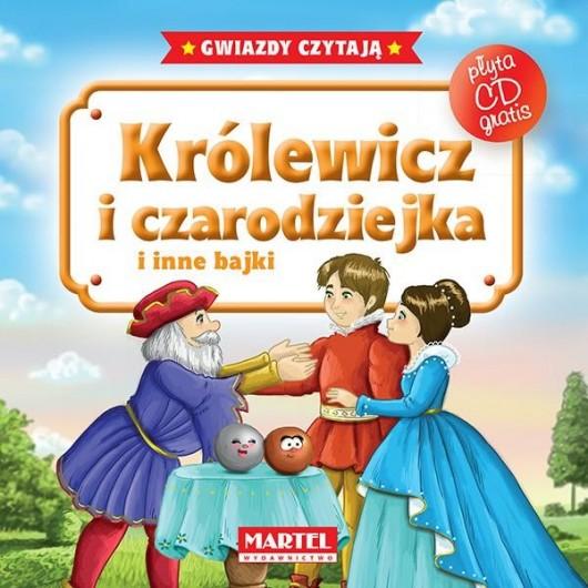 Bajki do poduszki- Królewicz i czarodziejka... +CD