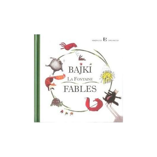 Bajki La Fontaine Fables + CD