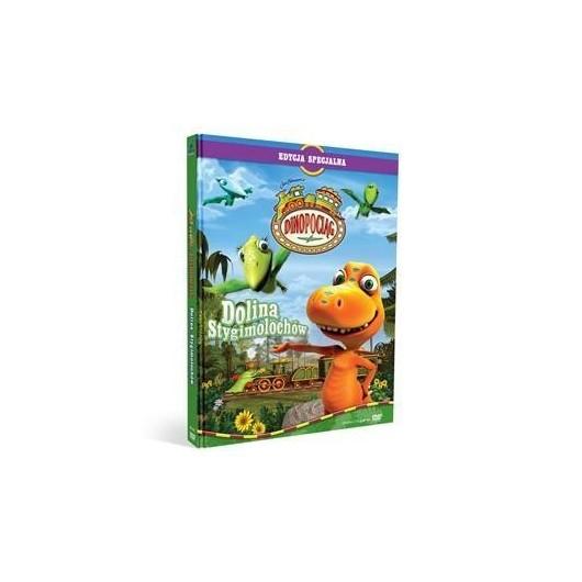 Dinopociąg. Dolina Stygimolochów (książka + DVD)